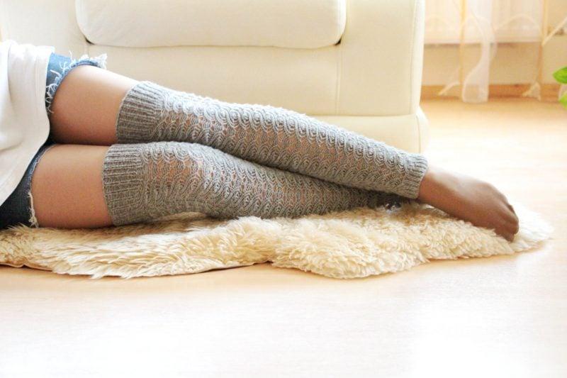 Strickmuster für Socken: Die Socken können auch sexy sein
