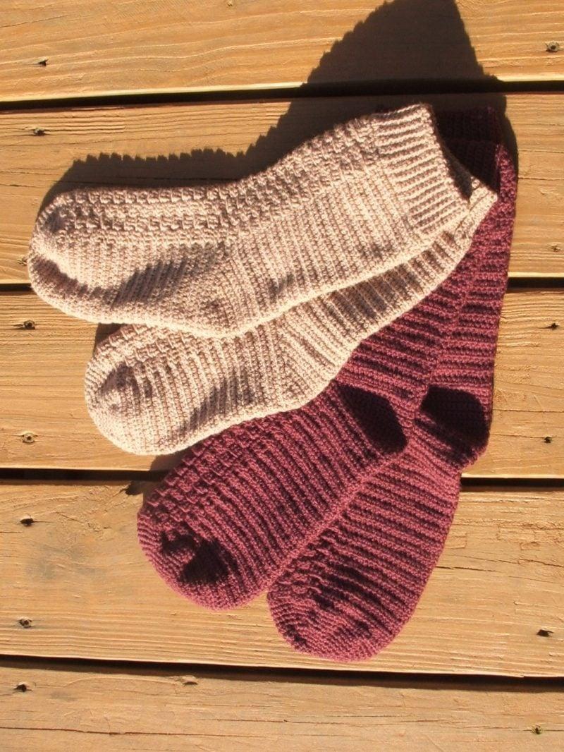 Strickmuster für Socken: Folgen Sie unsere Anleitung