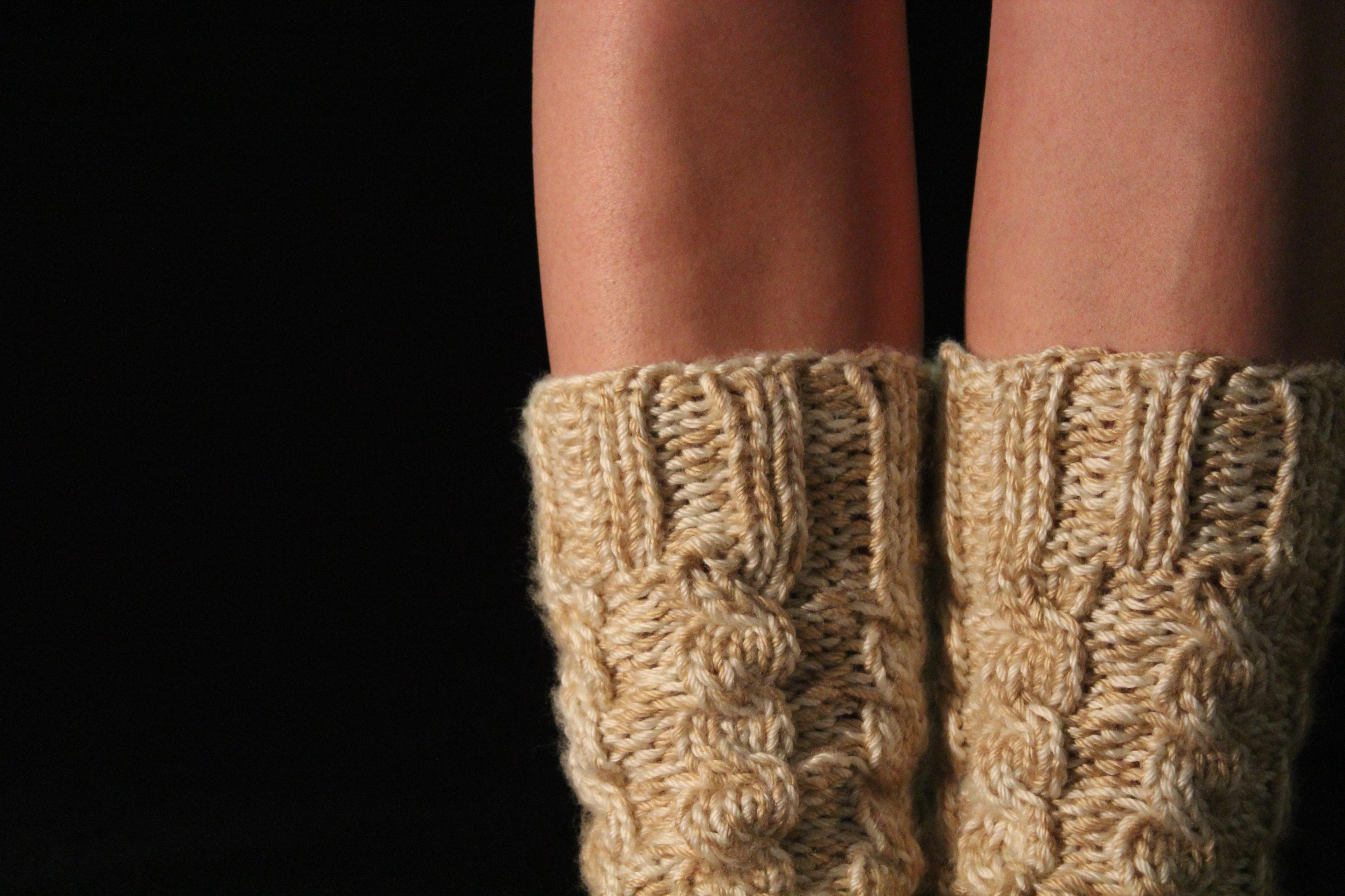 Strickmuster für Socken und Anleitung