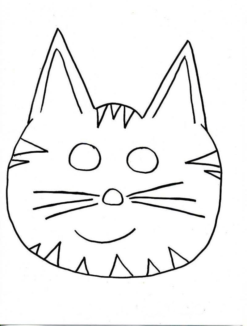 Großartig Katze Augenmaske Vorlage Bilder - Beispielzusammenfassung ...