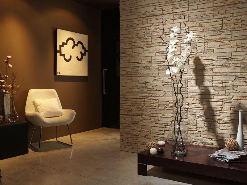 der neue trend 41 ideen f r wandpaneele mit steinoptik wandverkleidung zenideen. Black Bedroom Furniture Sets. Home Design Ideas
