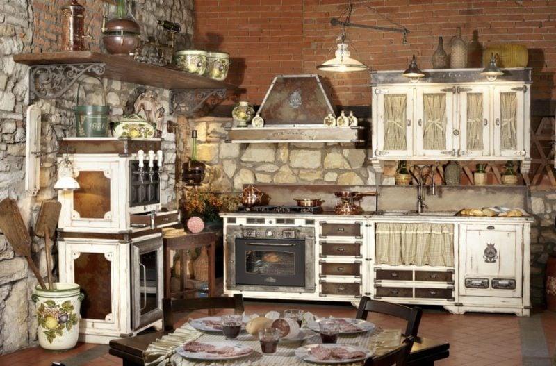 Wandpaneele mit Steinoptik in der Küche Design