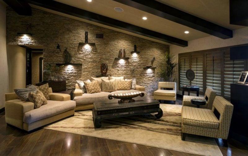 Kombinieren Sie Landhausstil und Modernität mit Wandpaneele mit Steinoptik