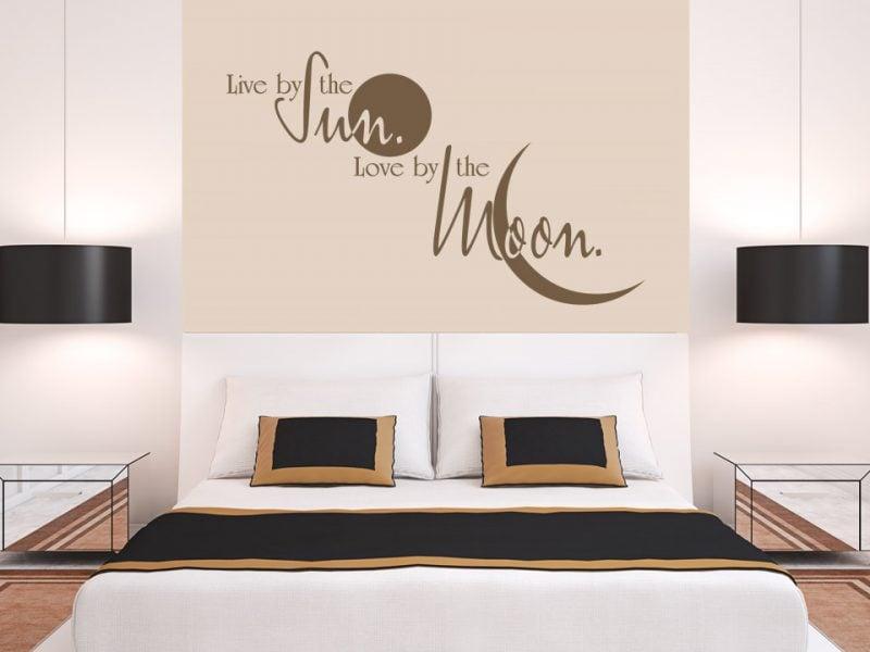 Wandtattoo spr che 21 tolle deko ideen badezimmer esszimmer k che schlafzimmer zenideen - Wandtattoo spruche schlafzimmer ...