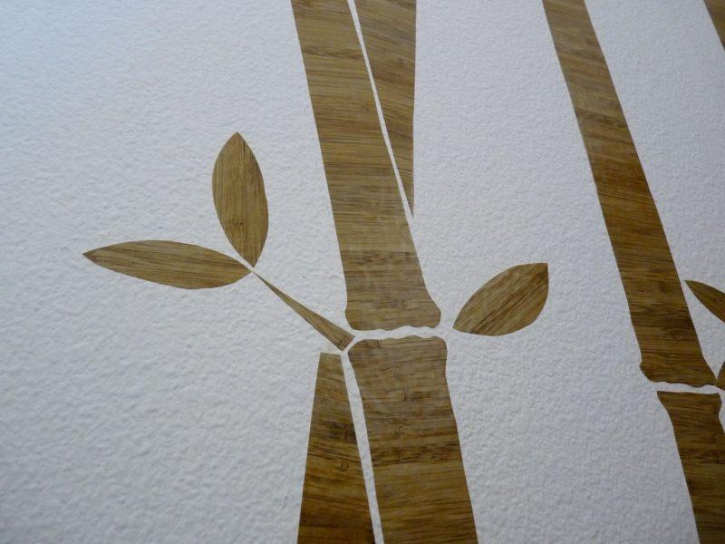 Wandtattoo selber machen: Aus Wandfoile verschiedene Figuren ausschneiden