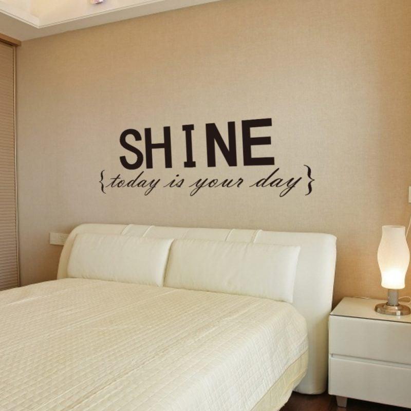 Wandtattoo Selber Machen: Spruch Für Schlafzimmer