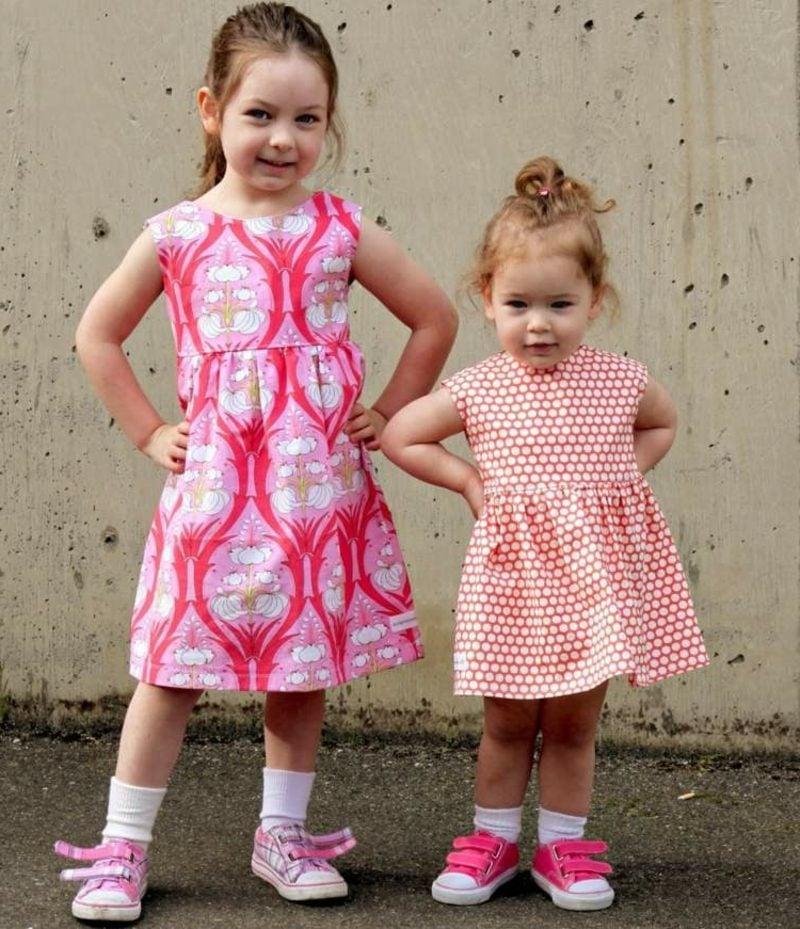 Kinderkleidung nähen Ideen und Inspirationen