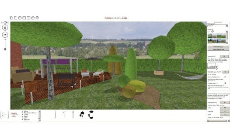 Gartenplaner 3D Effekte Online Kostenlos