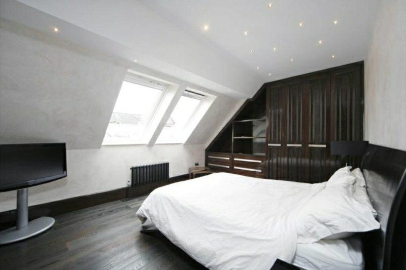 Bett Unter Dachschr Ge begehbarer kleiderschrank unter dachschräge ideen und planungstipps