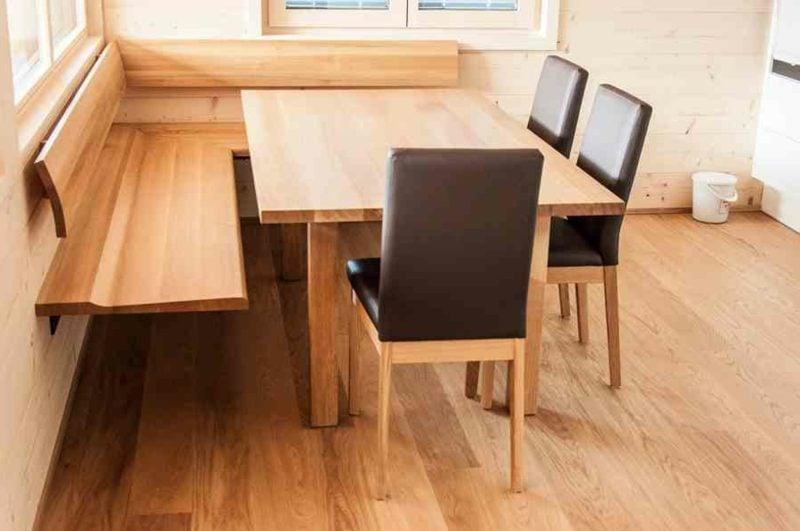 Eckbank Holz klassisches Design