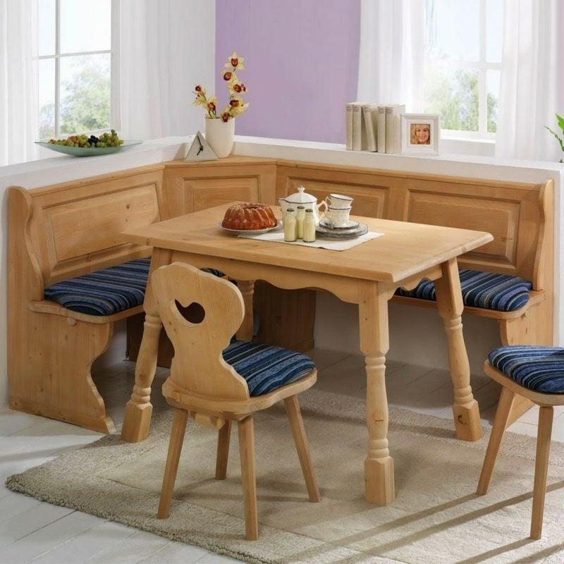 Eckbank Holz modernes Design