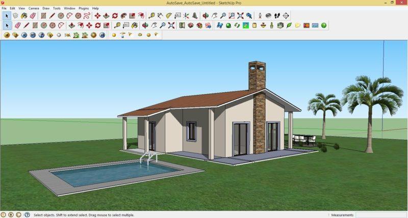 online Gartenplaner 3D-Effekte