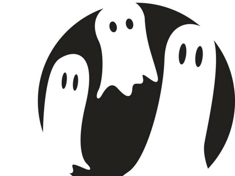 Halloween Kürbis Schnitzvorlagen Gespenster