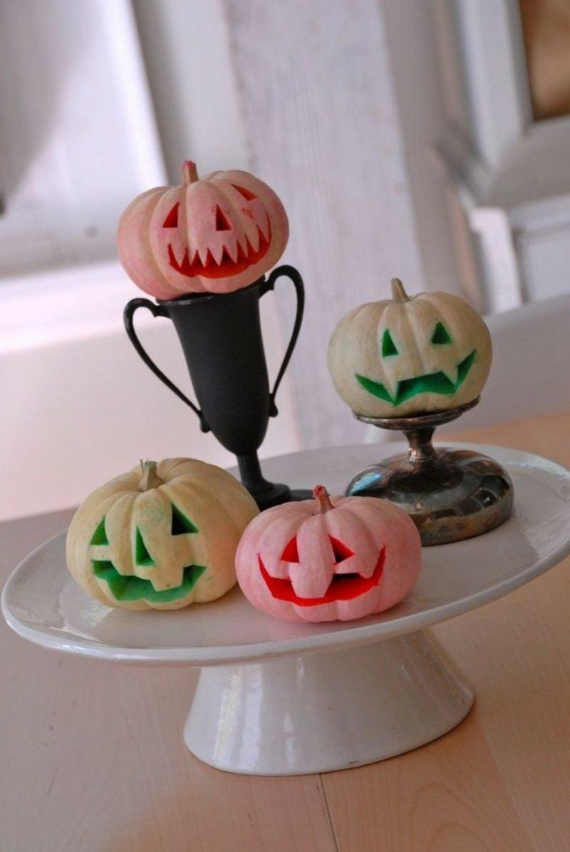 DIY Halloween Kürbis schnitzen