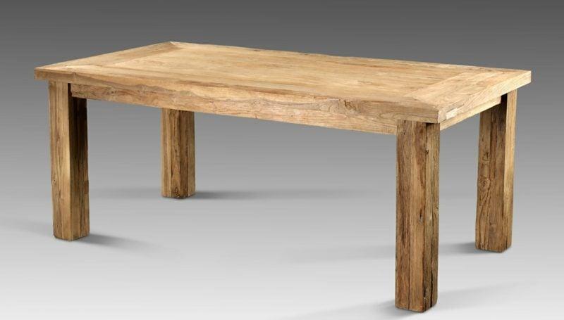 kreative DIY Ideen Holztisch selber bauen