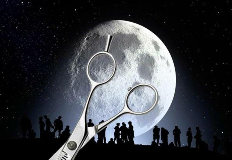 Haare schneiden nach dem Mond