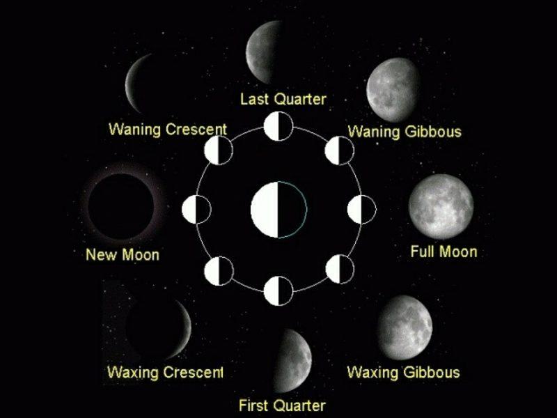 mondkalender 2015 Mondphasen Haarschneiden