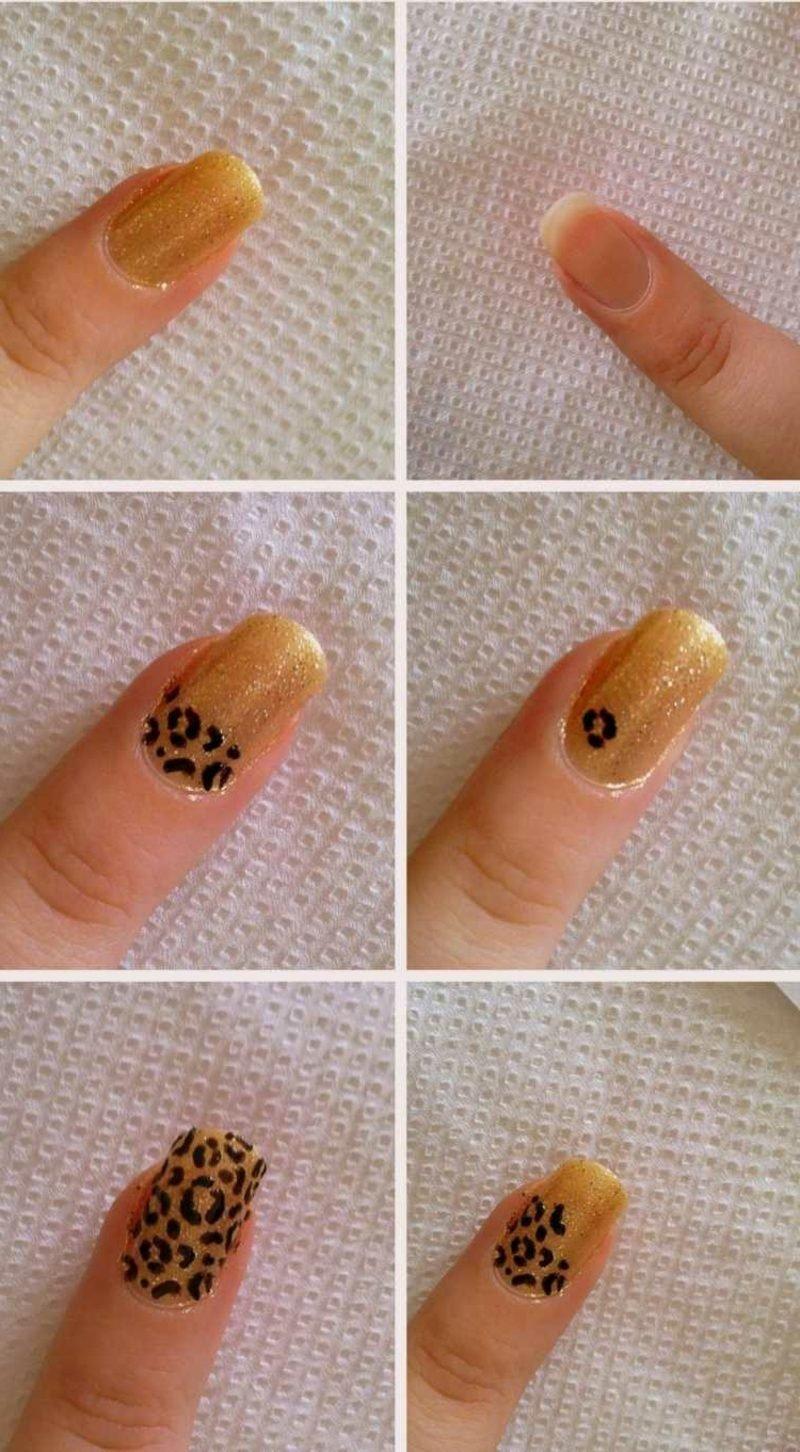 DIY Leopardenmuster