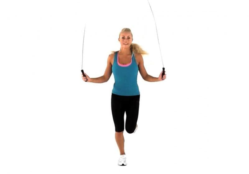 Seilspringen zum gesunden und effektiven Abnehmen