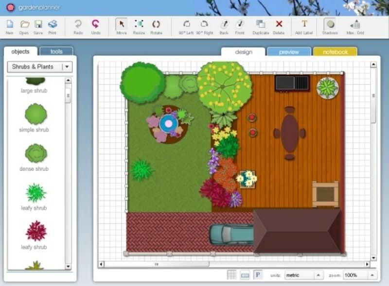 Landschaftsplanung kostenlose Software 2D