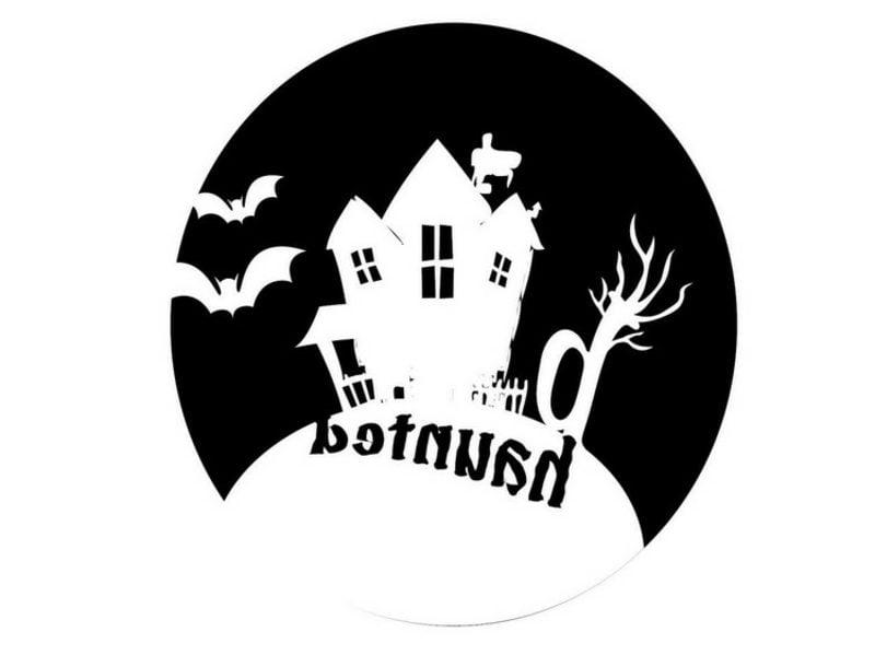 Halloween Kürbis Schnitzvorlagen Spuckhaus