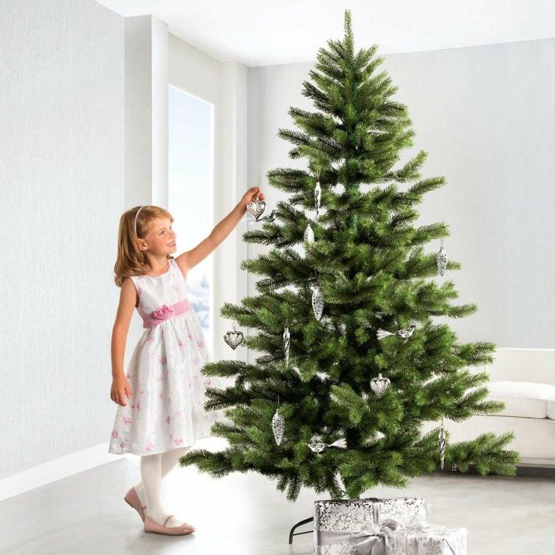 weihnachtsbaum kaufen und schmcken - Christbaum Schmucken Beispiele