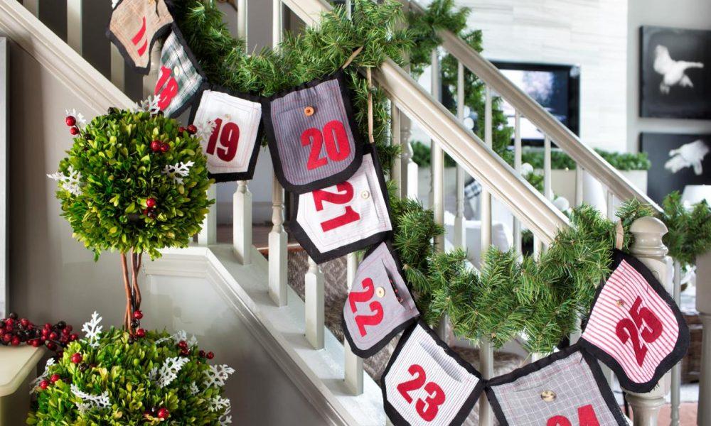 Warmen adventskalender n hen anleitungen und 35 - Weihnachtsdeko nahen ...