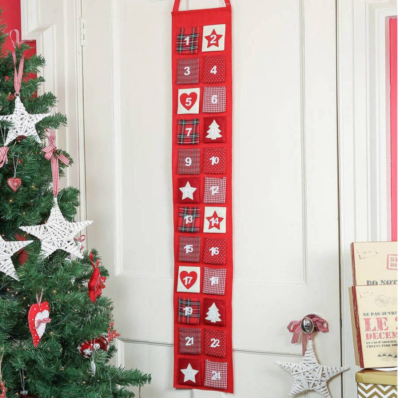 warmen adventskalender n hen anleitungen und 35 beispiele diy weihnachtsdeko ideen zenideen. Black Bedroom Furniture Sets. Home Design Ideas
