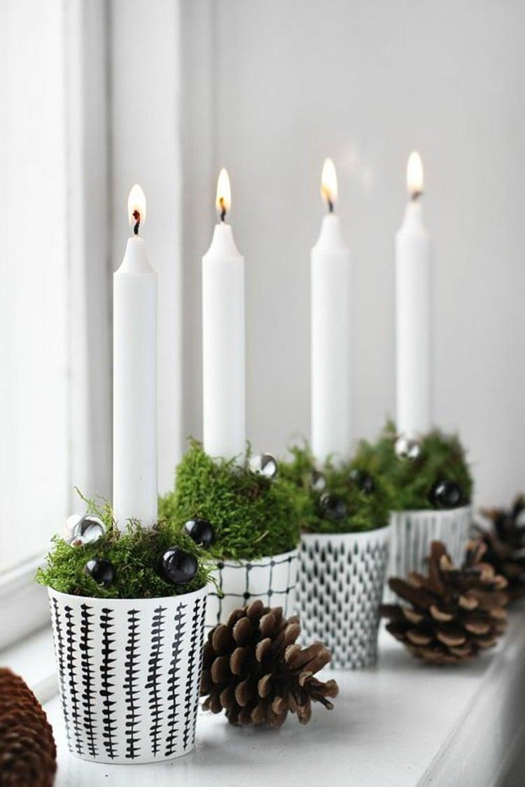 Adventskranz bestellen minimalistisch