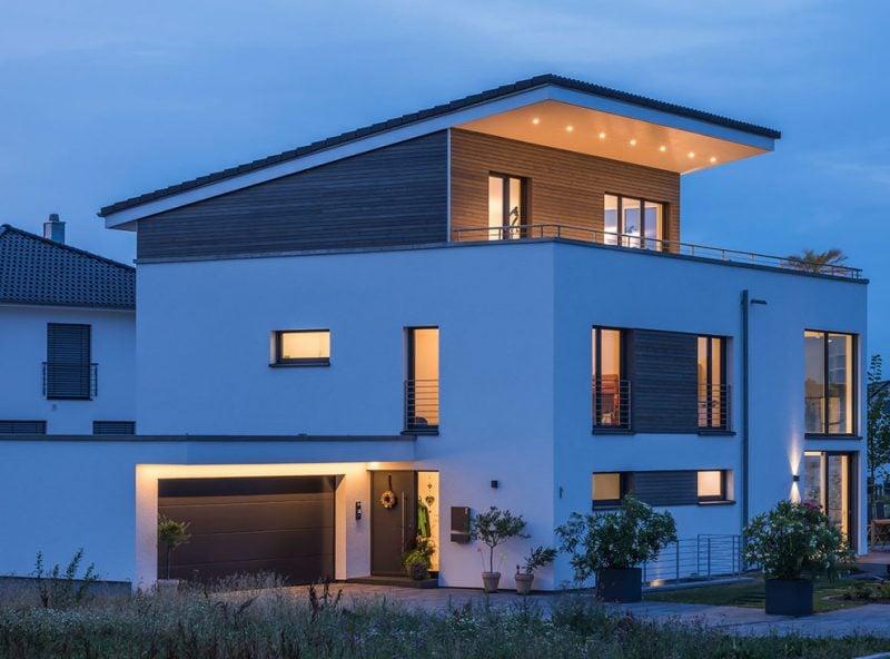 Architektenhäuser von moderner Architektur inspiriert