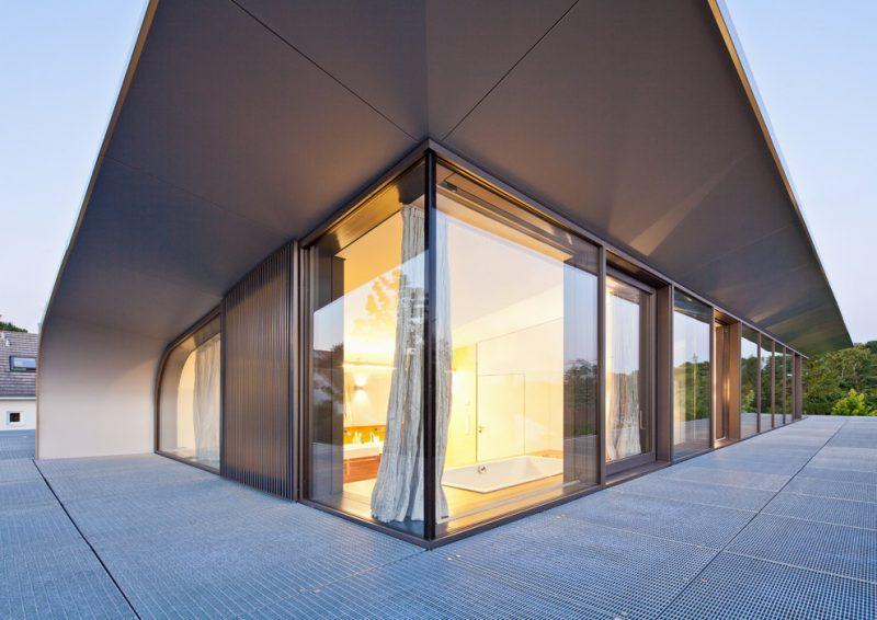 Bei Architektenhäuser denken Sie an Fenster und Türen