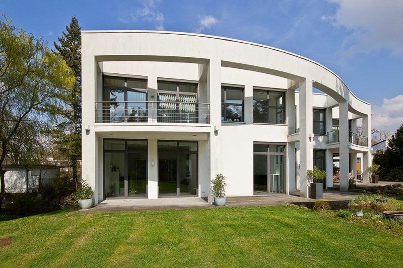 Bei Architektenhäusern können Sie Ihr Individualismus ausdrucken
