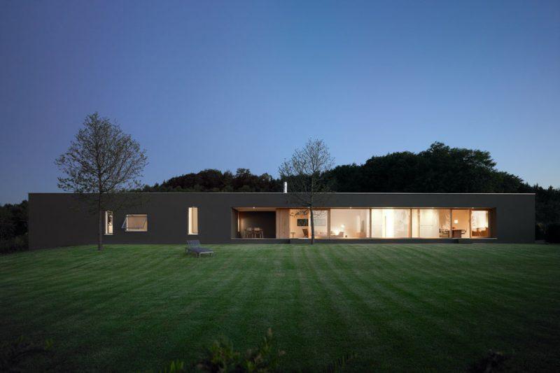 Architektenhäusern - Die einstöckigen Häuser können auch modern wirken