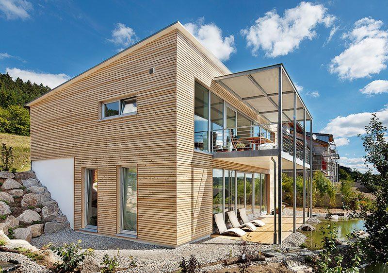 Architektenhäuser mit Holzrahmenbau
