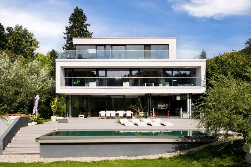 Architektenhäuser von Minimalismus inspiriert