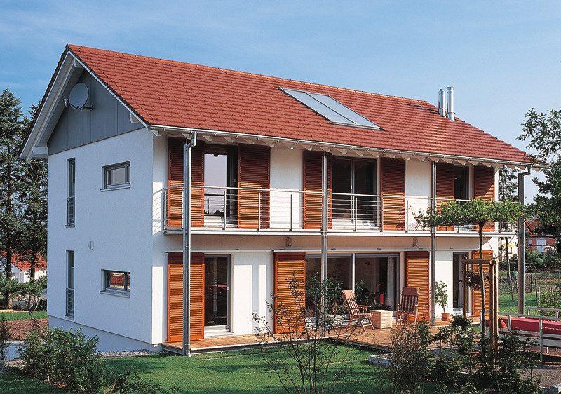 Architektenhäuser mit mediterranem Hauch