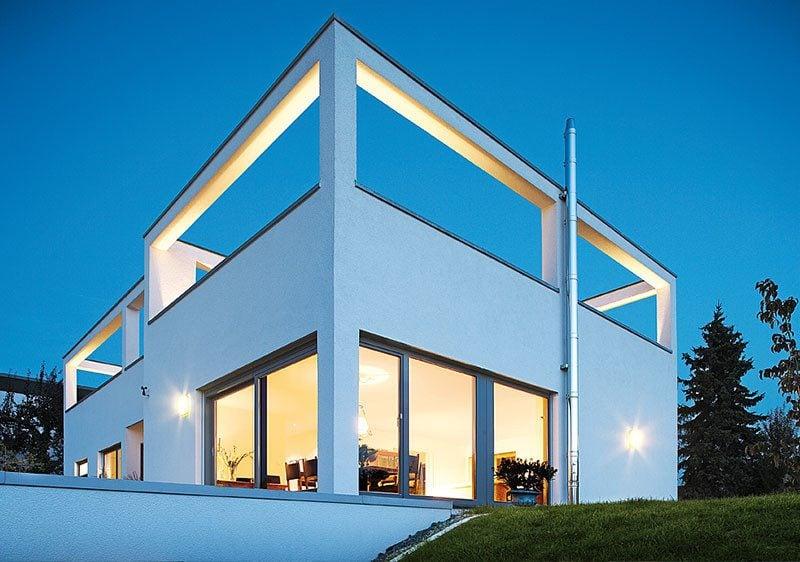 Architektenhäuser modern Deisgn