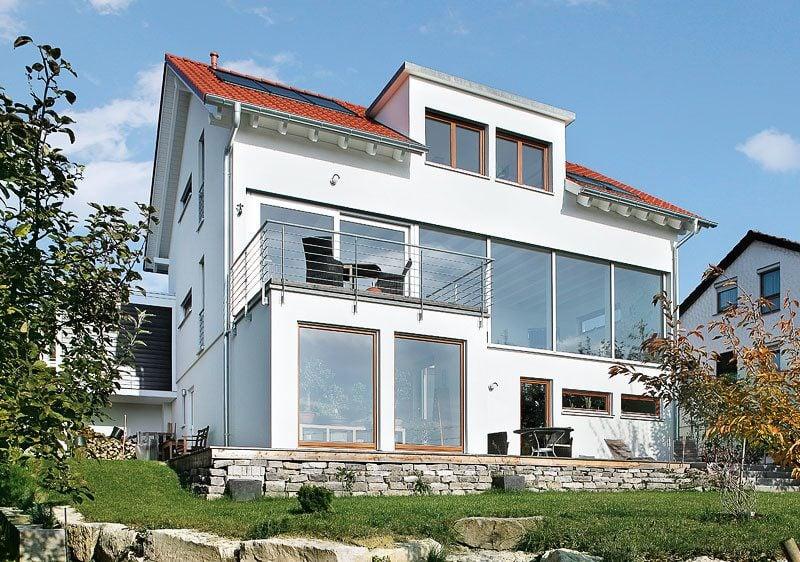 Architektenhäuser - Kombinieren Sie verschiedene Stile