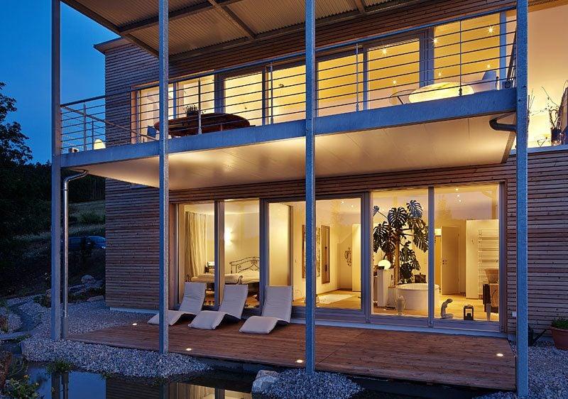 Architektenhäuser - Sparen Sie von der Grosse und Keller