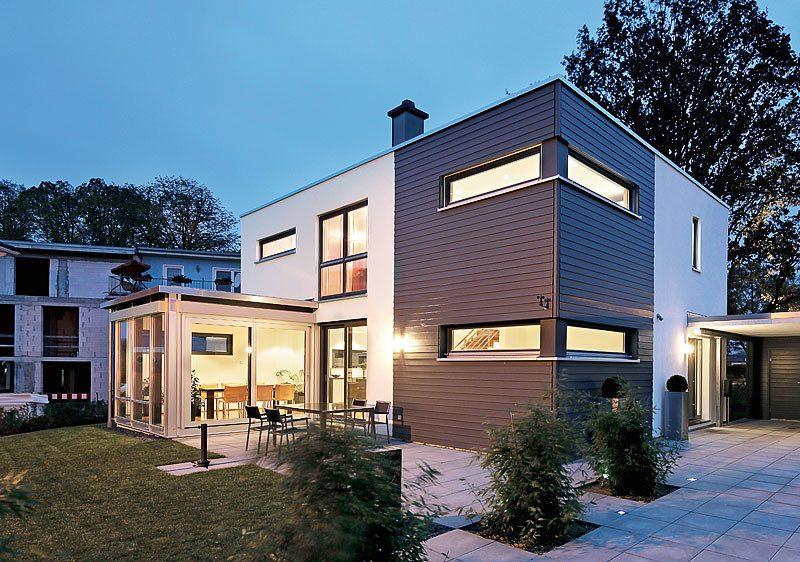 Architektenhäuser zweistöckig Haus