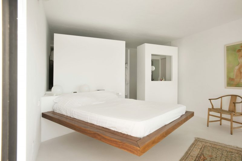 Bett Ohne Kopfteil Aus Massivholz With Niedriges Bett