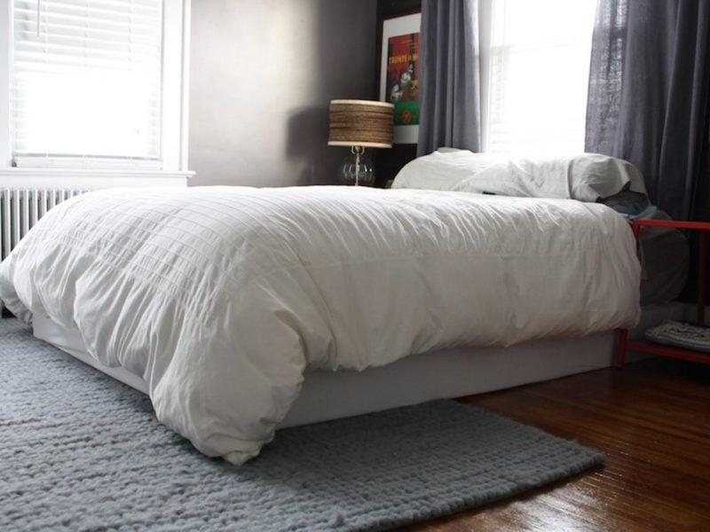 Bett ohne Kopfteil Ideen