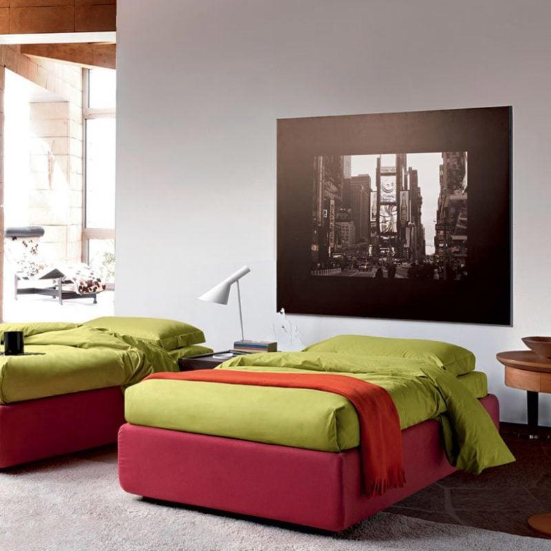 Bett ohne Kopfteil für Jugendzimmer