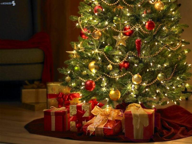 weihnachtsbaumschmuck frisches tannengrün passende größe