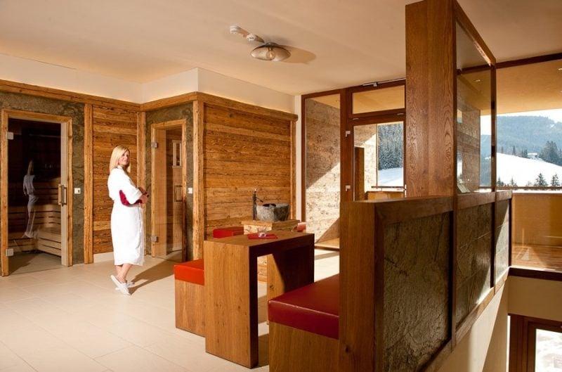 Biosauna im Hotel Neubergerhof