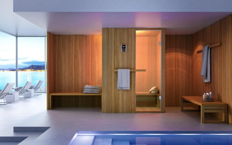 hei e wintertage biosauna zu hause wellness spa zenideen. Black Bedroom Furniture Sets. Home Design Ideas