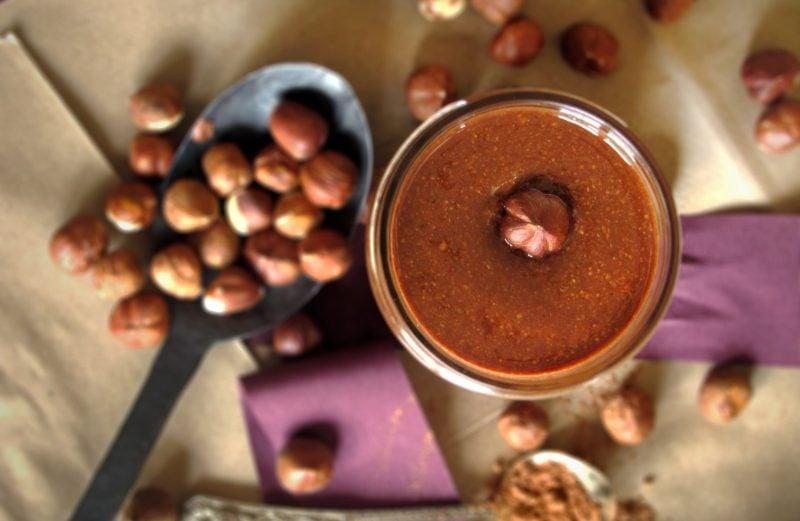 Brotaufstrich selber machen mit Kakaopulver
