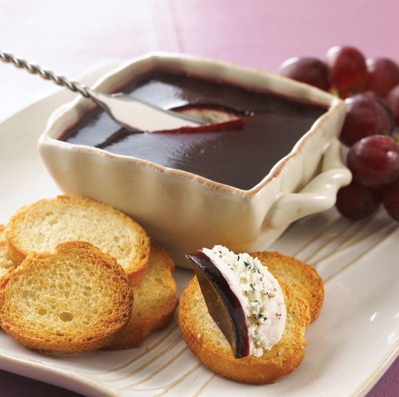 Brotaufstrich selber machen Merlot Käse
