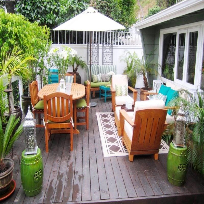 Design Gartenmöbel für warme Ausstrahlung