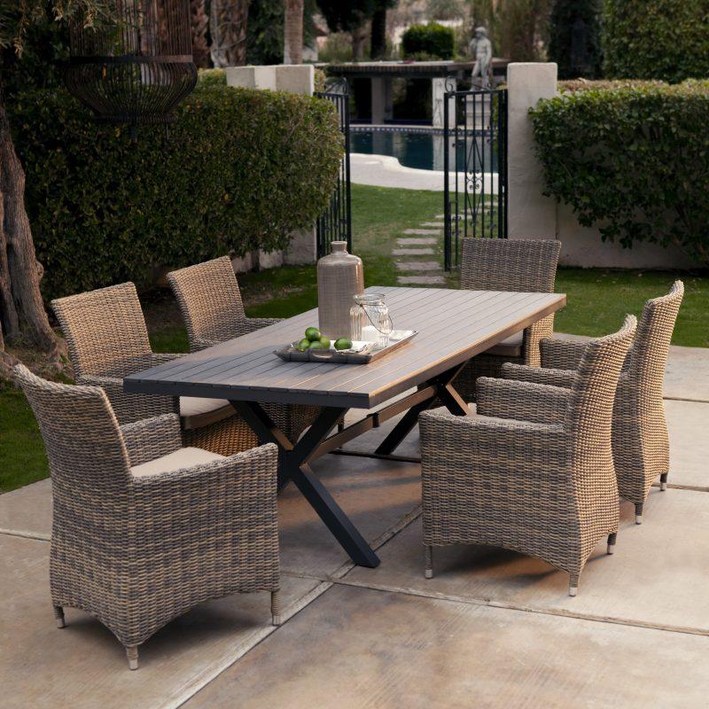 Design Gartenmöbel aus Rattan